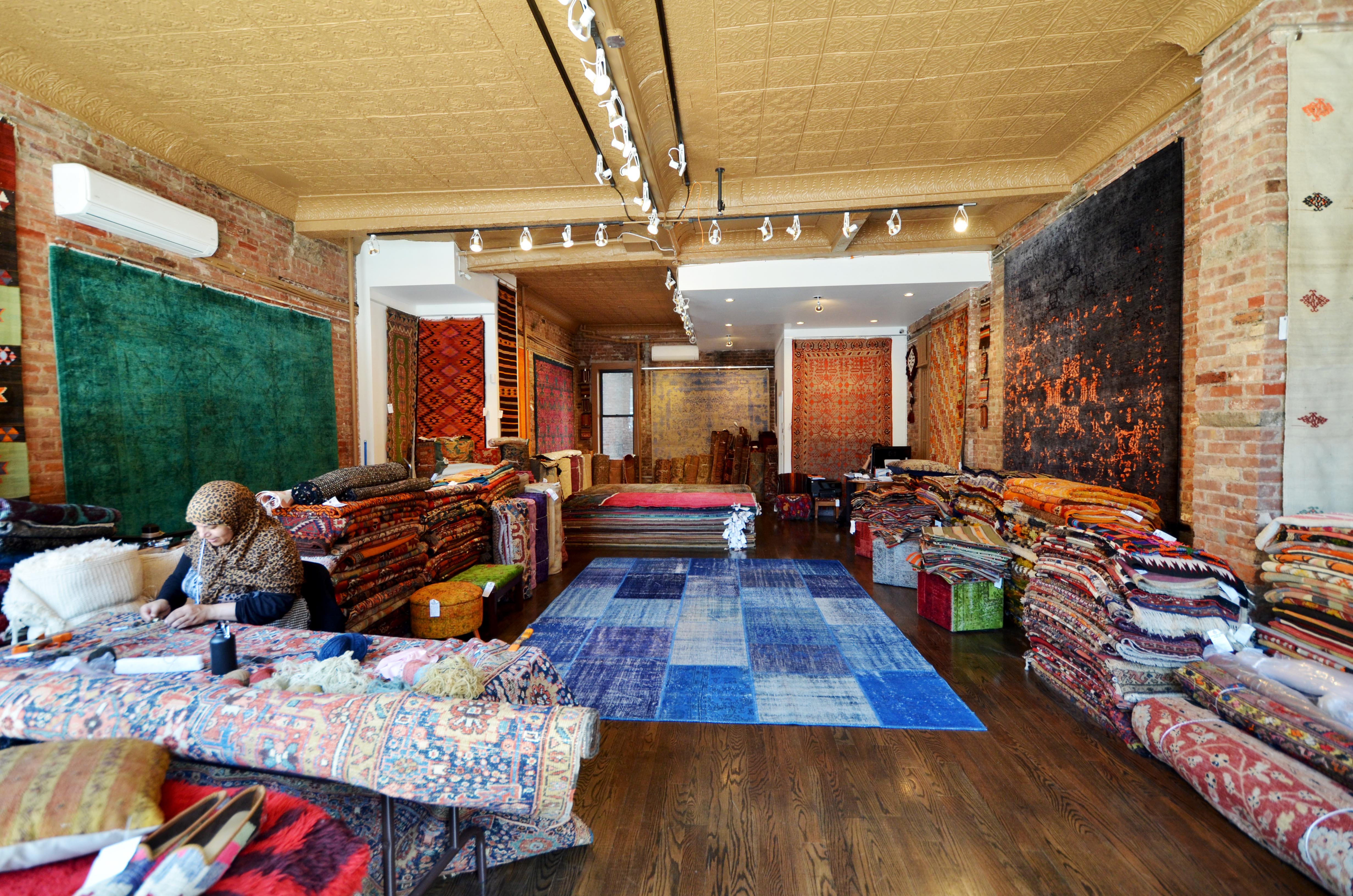 Rug store in NYC